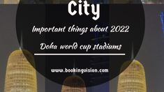 Stuff To Do, Things To Do, Good Things, World Cup Stadiums, Travel Ads, Lets Try, November 2019, Doha, Books Online