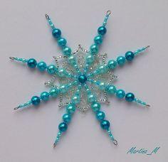 Vánoční hvězda 20 tyrkysová