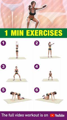 Workout Videos For Women, Gym Workout Videos, Gym Workout For Beginners, Workout Women, Fitness Workouts, At Home Workouts, Full Body Gym Workout, Butt Workout, Bridge Workout