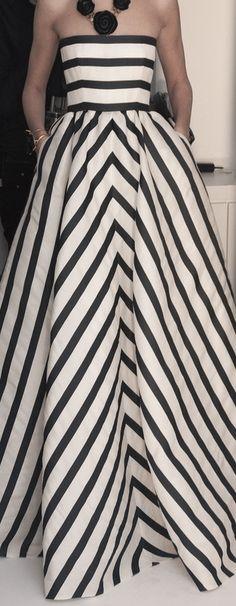 oscar de la renta bold stripes #jcrew #myshoestory