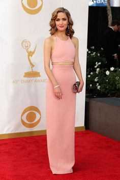 Pretty Perfect: The Emmys 10 Best Dressed - Rose Byrne in Calvin Klein Collection