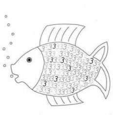 Tipss and templates for: Number coloring pages free printableNumber coloring pages free printable preschool fish -CLICK PICTURE FOR MORE- Bean Mosaic Owl . Numbers Preschool, Preschool Worksheets, Kindergarten Activities, Preschool Activities, Printable Coloring Pages, Coloring Pages For Kids, Coloring Books, Math School, Pre School