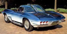 1961-1962 Mako Shark Corvette!