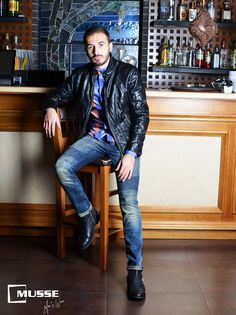 Christmas outfit >> www. Christmas Time, Punk, Mens Fashion, Outfits, Laid Back Style, Moda Masculina, Man Fashion, Suits, Fashion Men