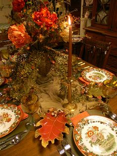 Nancy's Daily Dish: Search results for tablescapes