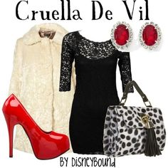 Cruella De Vil Make Up | Collect Collect this now for later