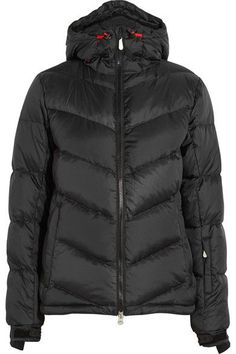 Perfect Moment - Super Day Quilted Down Ski Jacket - Black - large