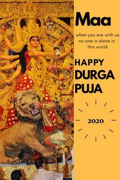 Happy Durga Puja, Durga Maa, Durga Goddess, Durga Images, Lakshmi Images, 8th Day Of Navratri, Where Is Heaven, Durga Puja Kolkata, Happy Navratri Images