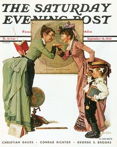 "Norman Rockwell ""First Day of School"" (1935)"