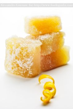 Lemon Jellies. Oh me oh my! I've never made candy, but I do looooove lemons and I have no doubt these would be divine.