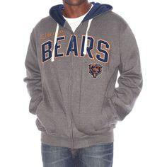 Chicago Bears Tackle Full Zip Hoody by G-III $59.95  #ChicagoBears