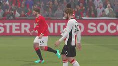 Manchester United vs Liverpool F.C (3 - 3) - PES 2015