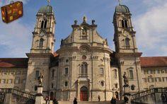 Einsiedeln Abbey, Switzerland     http://www.travelwallpaper.net/p/europe/switzerland/page-1.html    #travel #einsiedelnabbey #switzerland