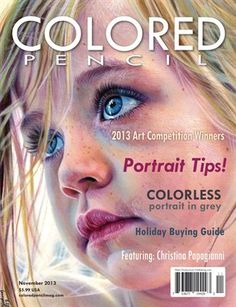 COLORED PENCIL Magaz...   November 2013. Not free but a good resource. Link allows you to read/view a sample of the magazine.