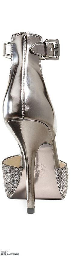 ~Michael Kors Brenna Ankle-Strap Evening Pumps | The House of Beccaria#
