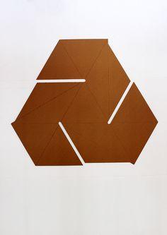 Stool made of one piece of cardboard.Designed in collaboration with Anna Łyszcz, Michał Niemojewski and Rafał Kutnik