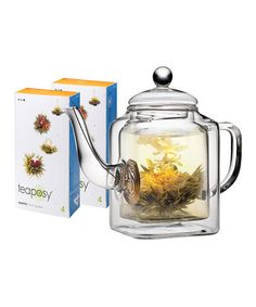 Take a look at this Socrates Teapot & Tea by Teaposy on #zulily today!