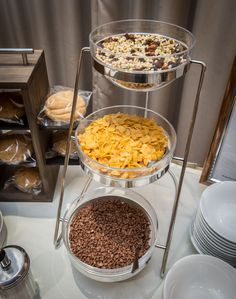 And for the cereal lovers, we have three hand picked cereals for your breakfast buffet at St Pierre Park Hotel in Guernsey
