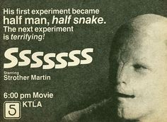 Sssssss (1973) (TV ad)