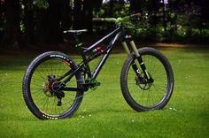 """Banshee Rune """"black jungle"""" custom bike by www.bikeinsel.com #Banshee #Rune #bikeinsel"""