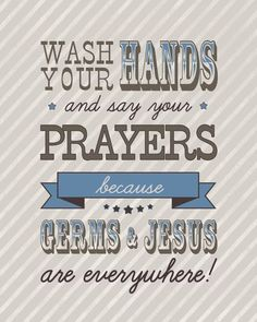 Germs and Jesus are Everywhere: Meg Duerksen - Great Blog to Follow