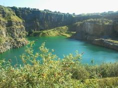 This is a disused quarry in Skerries Co Dublin, looks tropical Ireland Homes, Dublin Ireland, Geography, Irish, Rocks, Public, Tropical, Europe, River