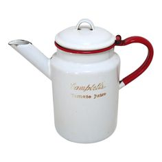 Campbell Soup Company, Enamel Ware, Tomato Juice, Tea Pots, Promotion, I Shop, Conditioner, Advertising, Restaurant