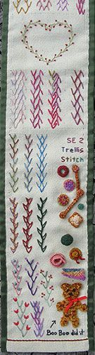 Annies crazy World: Embroidery blog with unique examples!