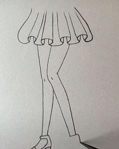 Fashion Drawing Tutorial, Fashion Figure Drawing, Fashion Model Drawing, Fashion Drawing Dresses, Dress Design Drawing, Dress Design Sketches, Fashion Design Sketchbook, Fashion Design Drawings, Lace Drawing