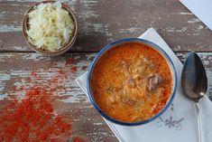 Creamy Sauerkraut Stew (Slovak Segedinsky Gulash) - Almost Bananas Slovak Recipes, Hungarian Recipes, Paleo Recipes, Slow Cooker Recipes, Low Carb Recipes, Soup Recipes, Great Recipes, Cooking Recipes, Favorite Recipes