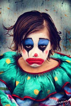 The Melancholy Clown... by eatpraytravel.deviantart.com on @deviantART