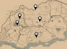 red dead 2 treasure map