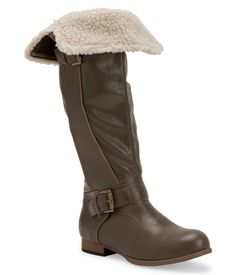 Go Jane Tosca Sherpa Cuff Riding Boot