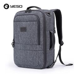 EBay  Yeso Multifunction Men S Laptop Backpacks 2017 Large Capacity  Backpack For Teenager School Bags Anti Theft Travel Backpack Women 9ef0b33429c21