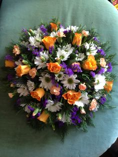 Funeral Posy Pad 2015