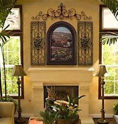 spanish revival mantle decor - Spanish Decor
