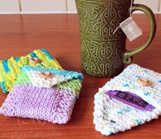 Free Craft and Knitting Tutorial Tea Pouch
