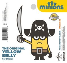 The Original Yellow Belly Sticker - 33016 $2.98
