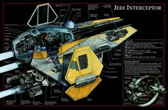 An Eta-2 cross-section -- favorite starfighter (along with the X-Wing)
