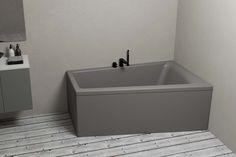 Nemo 160 badekar i matt grå fra Interform Sink, Vanity, Bathroom, Home Decor, Sink Tops, Dressing Tables, Washroom, Vessel Sink, Powder Room