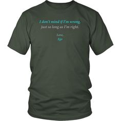 Letter From Ego - Daily Affirmation Shirt