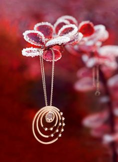 Chopard Happy Diamonds-Pendant by CHOPARD official, via Flickr