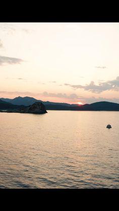 Celestial, Sunset, Beach, Water, Outdoor, Corse, Sun, The Beach, Gripe Water