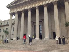 Great Hall at Wits, Johannesburg.