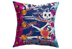 Mexico Skeleton 20x20 Pillow, Multi on OneKingsLane.com