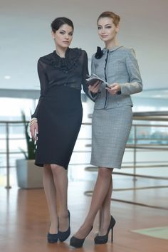 Wouldn't it be a pleasure to work in an office where women dressed this way?