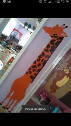 Boy grafiği biraz kalın bir Zürafa oldu