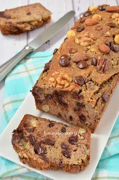 Bananenbrood met noten en chocola - Laura's Bakery