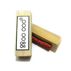 Recorder Fingering Rubber Stamp -    A great teacher and student aid. ( Musician, Music, Woodwind)