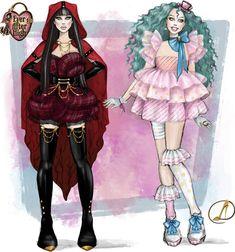 Raven Queen, Ever After High, High Art, Tea Party, Indigo, Instagram, Indigo Dye, Tea Parties